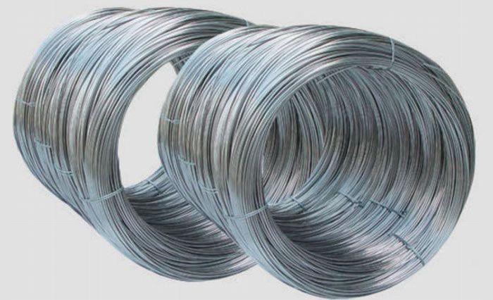 Hot dipped galvanized wire zinc coated iron
