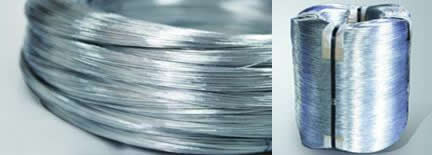 Hot dip Zinc Plated Steel Wire